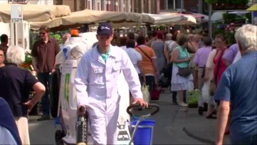 Уличен ловец на отпадъци
