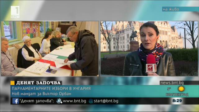Парламентарните избори в Унгария