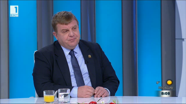 За българската армия, обществения ред и сигурността. Министър Каракачанов