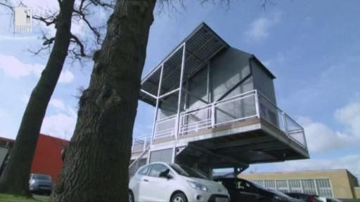 Къща с паркинг колкото апартамент