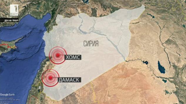 САЩ, Великобритания и Франция нанесоха въздушни удари по Сирия