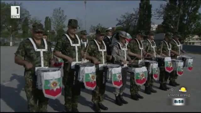 Представителните военни оркестри се готвят да посрещнат Гергьовден