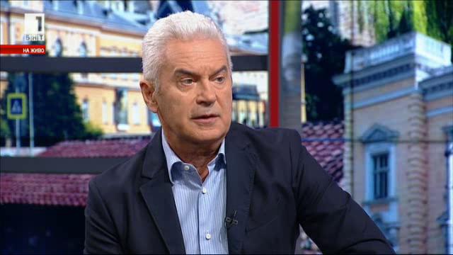 Волен Сидеров: С бойкот и санкции нищо не се постига