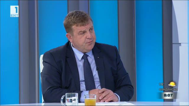 Красимир Каракачанов: Искането на Марешки за референдум за НАТО е евтин пиар