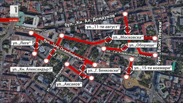 Засилени мерки за сигурност преди парада по случай 6 май