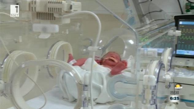 Кенгуру грижата - в помощ на недоносените бебета в УМБАЛ Пловдив