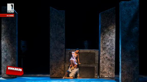 Спектакълът Ромео и Жулиета на балет Арабеск в Музикалния театър