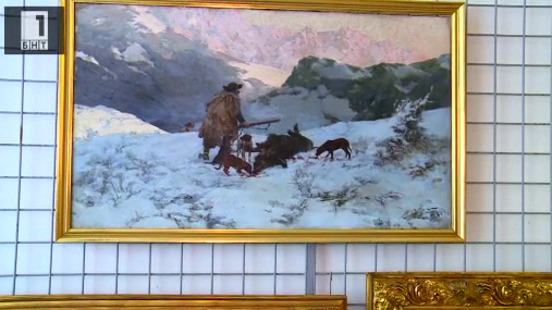 Непоказани картини на Ярослав Вешин в Прага