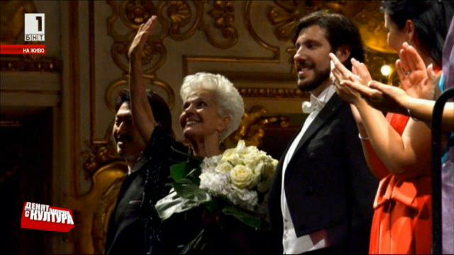 Известните певци Андреа Каре и Витория Йео за работата си с Райна Кабаиванска