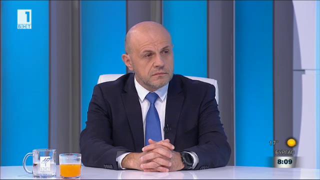 Томислав Дончев: Приоритет е абсолютната сигурност при доставките на газ