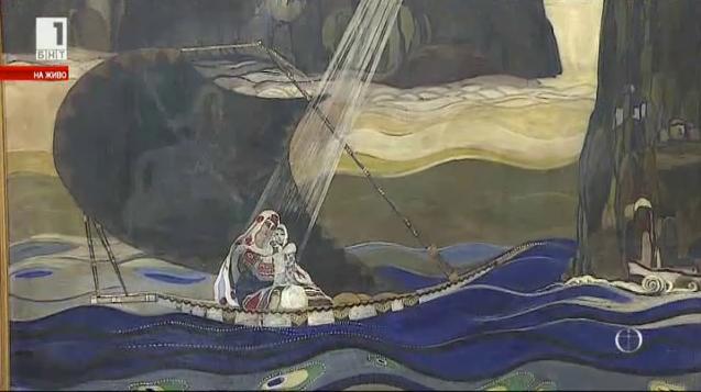 Какви са християнските теми в светското изобразително изкуство през 20-те у нас
