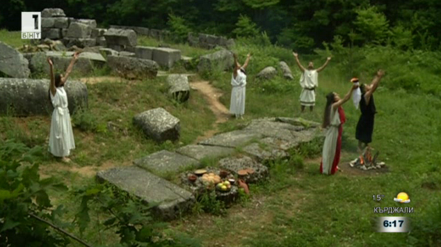 Възстановки на древни ритуали в комплекс Мишкова нива
