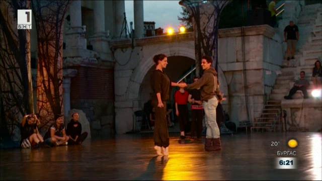 Звезди на балета от Хърватия гостуват на фестивала Opera Open в Пловдив