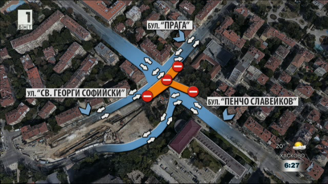 Ремонтите по софийските улици