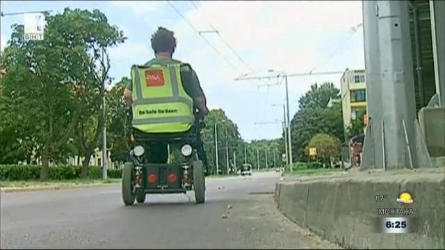 Висок бордюр пречи на хората с увреждания да ползват нов надлез във Варна