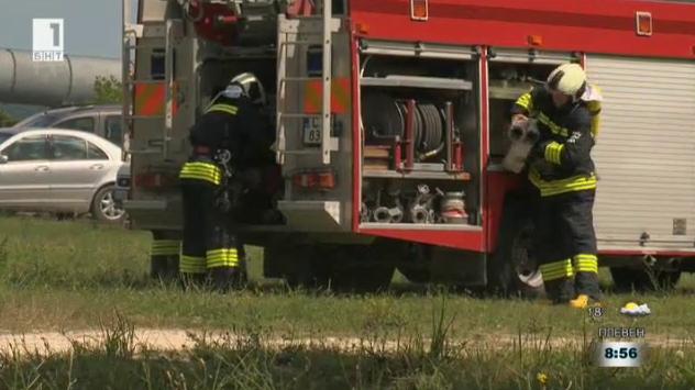 ОП Развитие на човешките ресурси осигурява по-добра екипировка на пожарникари