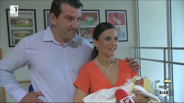 Бебе в Денят започва - водещата Юлия Наева стана майка