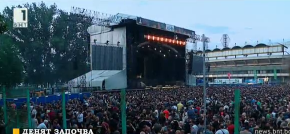 Iron Maiden с концерт в Пловдив