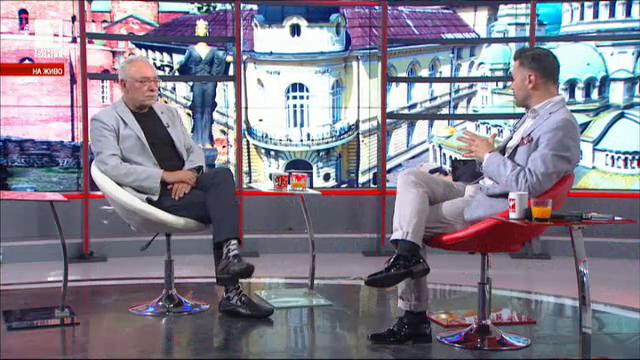 Радосвет Радев в първото си ТВ интервю като председател на БСК