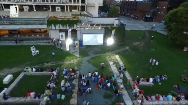 Пътуващото лятно кино с БНТ1 в Стара Загора