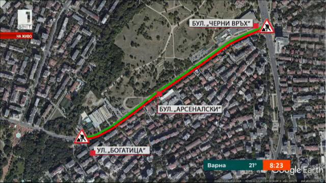 Евгени Крусев: Ремонтите в София се извършват качествено