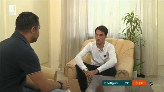 Интервю с капитана на националния отбор по футбол Ивелин Попов