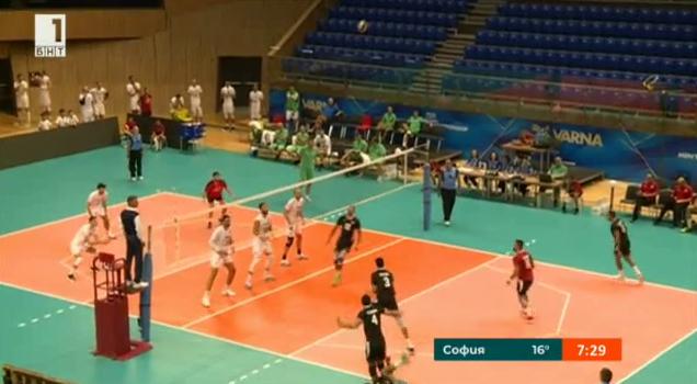 Подготовката на националния отбор по волейбол