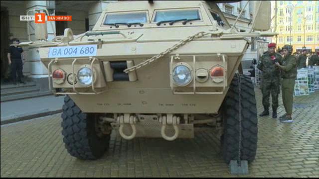 Парад на нова военна техника в столицата