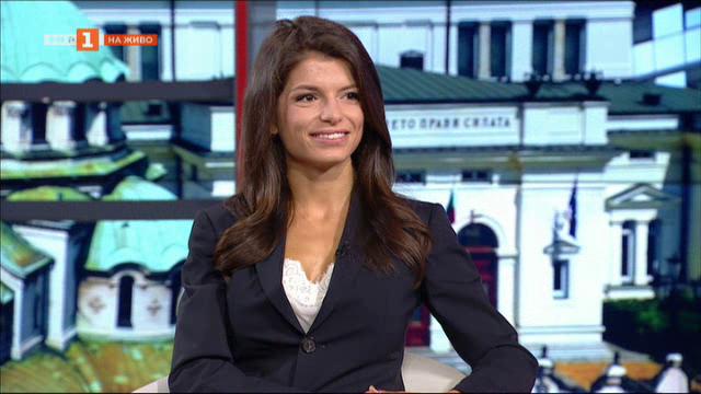 Чар от екрана на БНТ - Славена Вътова