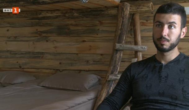 Димитър - млад предприемач, който осъществява детската си мечта