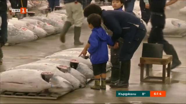 Местят рибния пазар на Токио