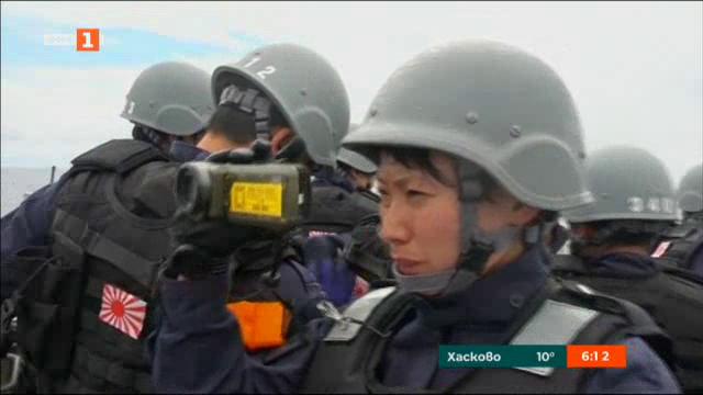 Военнослужещи жени в Япония - символ на промяната във военноморския флот