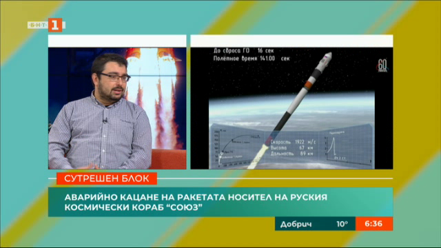 Аварийно кацане на руския космически кораб Союз