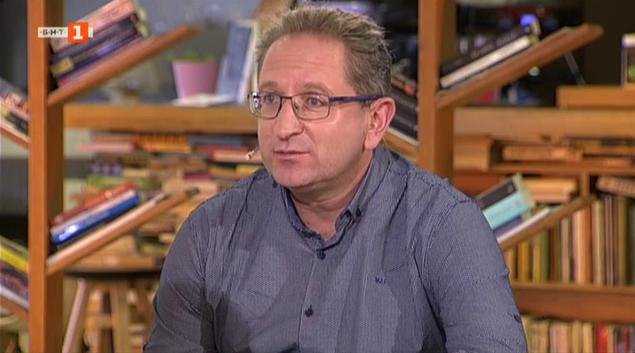 Георги Бърдаров в рубриката Писателите