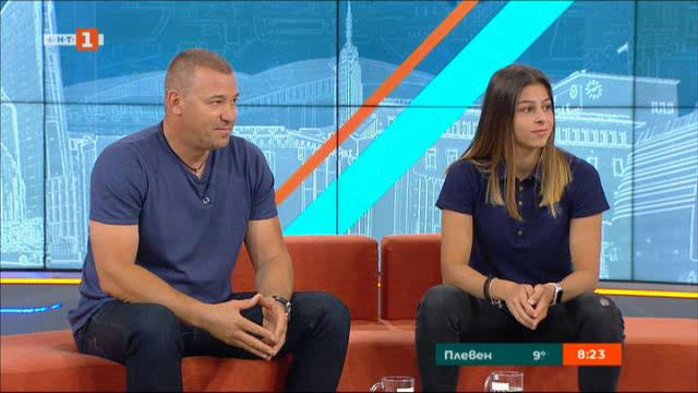 Александра Начева със златен медал на младежките олимпийски игри