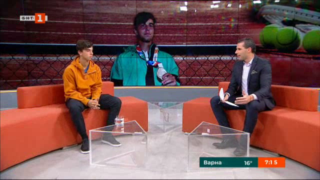Адриан Андреев - новата надежда на българския тенис