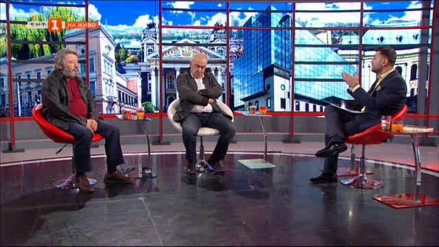 Петър Попзлатев и Красимир Доков представят филма Времето е наше