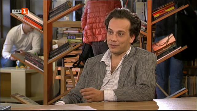 Васил Дуев - ководещ на Библиотеката