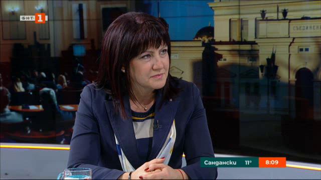 Цвета Караянчева: Политическият чадър не е на мода, институциите работят