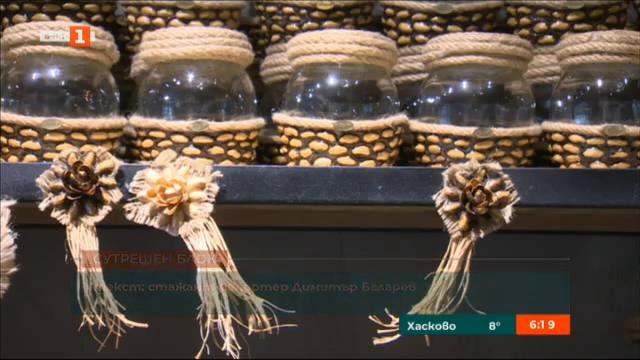 Черупки от шам фъстък превърнати в изкуство