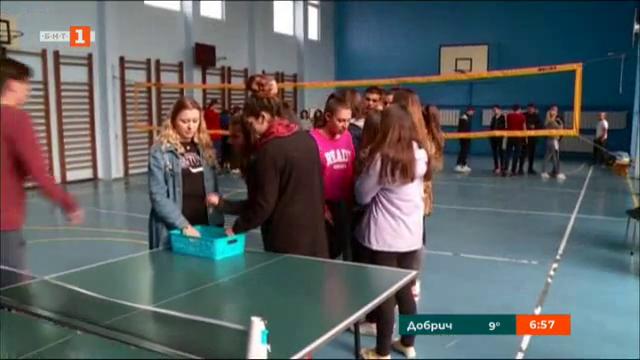 Нова спортна зала за учениците от езиковата гимназия Иван Вазов в Пловдив