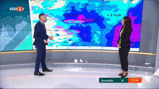 НИМХ: През следващите дни температурите падат
