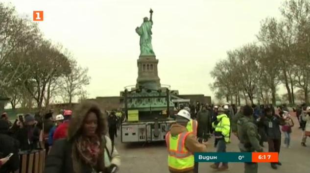 Музей ще приюти оригиналния факел на Статуята на свободата