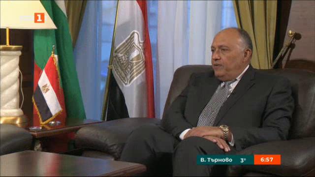 Самех Шукри: Египет е в период на съживяване, на преминаване към по-добро