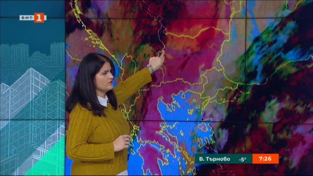 Прогноза за времето през декември