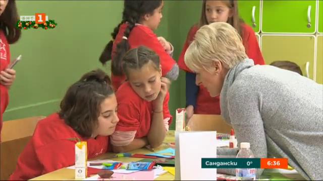 ОПРЧР: Коледна работилница в столичното училище Акад. Емилиян Станев