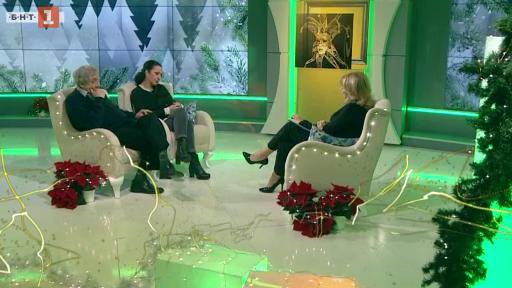 Актьорът Марин Янев и неговата дъщеря Кристина - гости в Извън играта