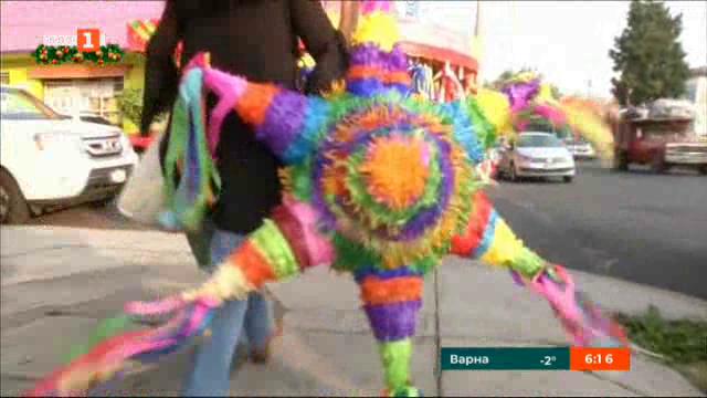 Мексиканският фестивал на коледната пинята