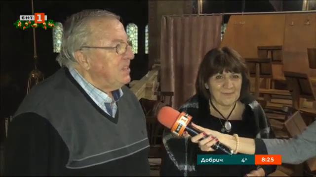 Патриаршеският катедрален хор Св. Александър Невски се готви за Рождество