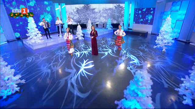 """Цветелина, Благовест Бичаков и танцов ансамбъл """"Огнени ритми"""" - Свищов"""
